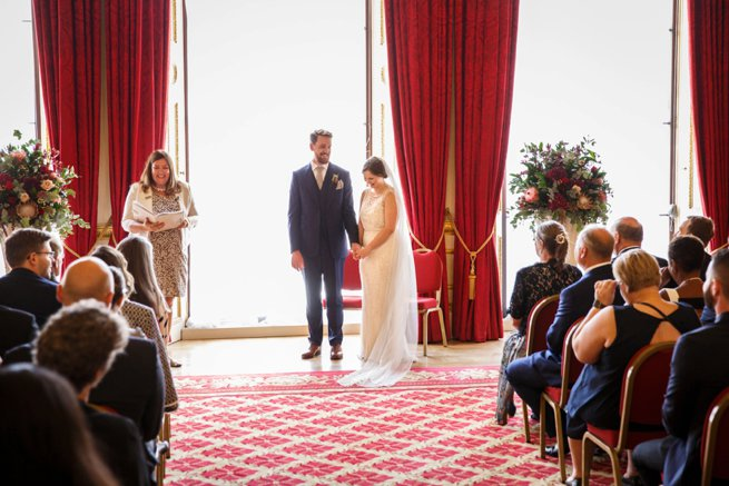 Indoor wedding celebrant ceremony | Kelly Chandler Consulting