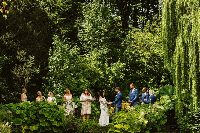 Outdoor wedding ceremony | Kelly Chandler Consulting
