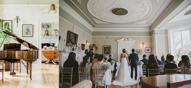 Interior wedding bride and groom Penton Park | Kelly Chandler Consulting