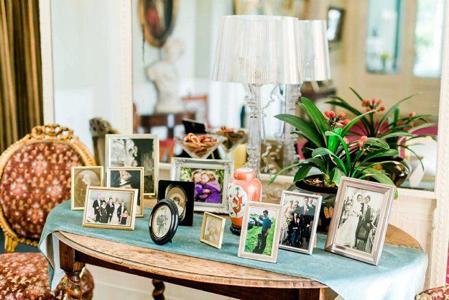 Penton Park table with photo frames | Kelly Chandler Consulting