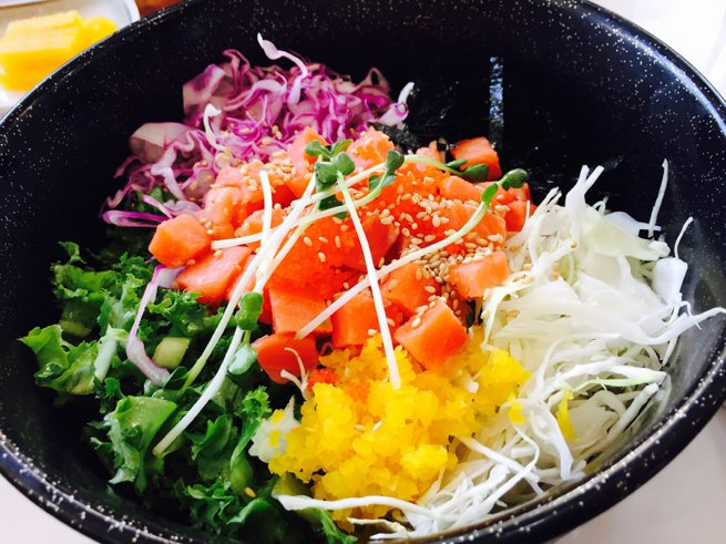 Poke bowl | Kelly Chandler Consulting