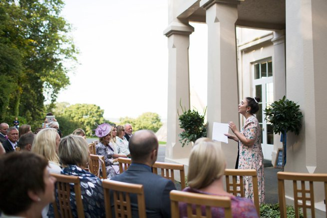Ceremony at Hallsannery House | Kelly Chandler Consulting