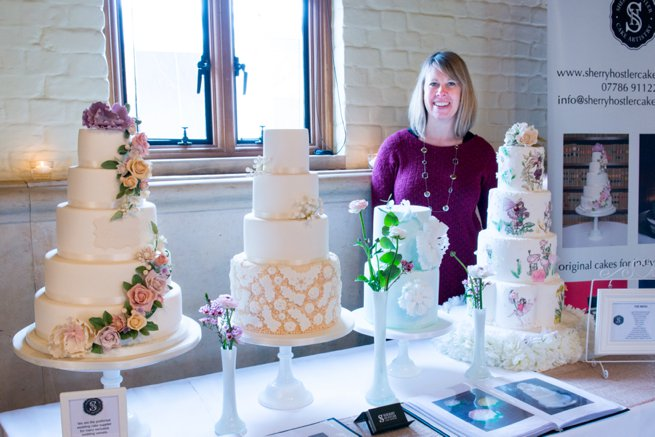 wedding cakes on display | Kelly Chandler Consulting